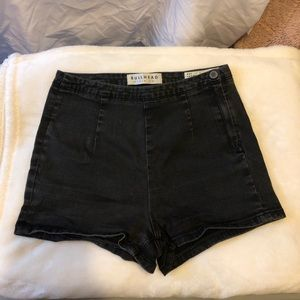 Pacsun Black High-Waisted Shorts